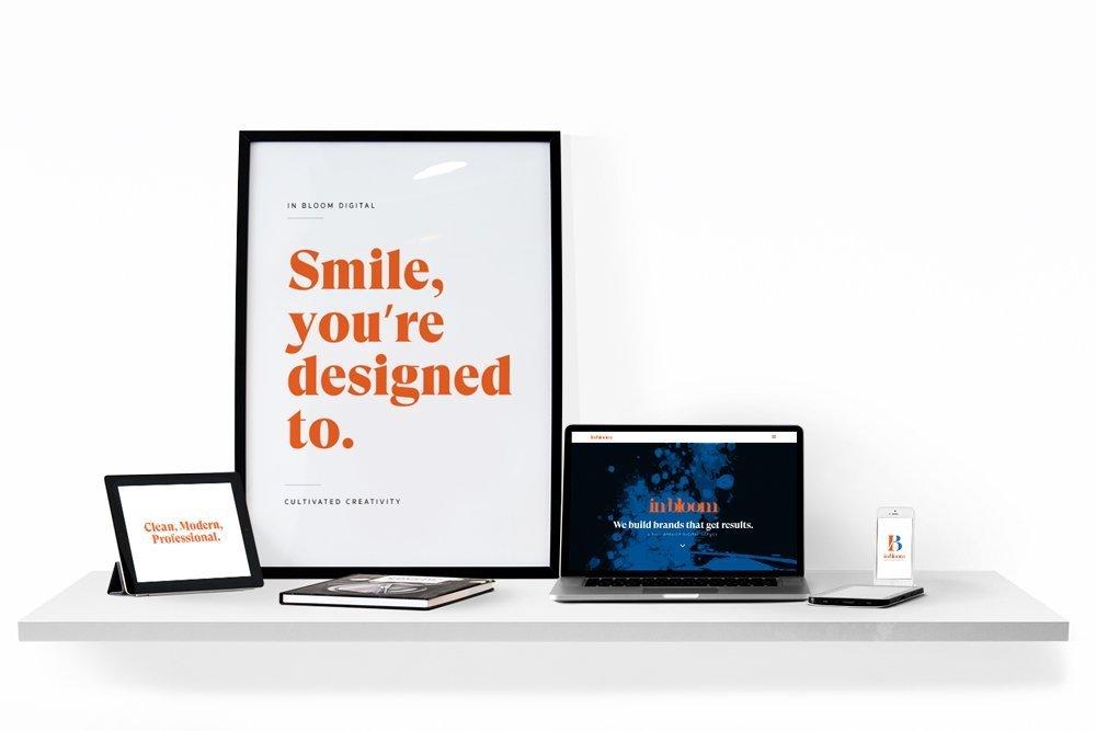 Collingwood Logo Design - In/Bloom Digital