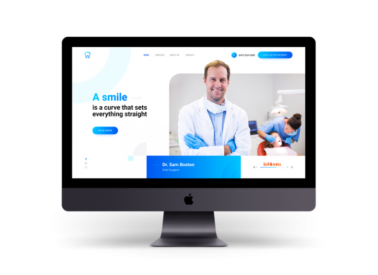 Dental Web Design - In Bloom Digital