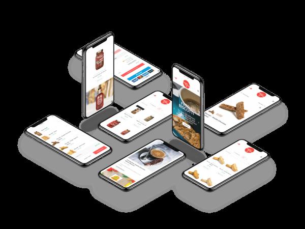 iphones-floating-connieskitchen-web-design-toronto-inbloom-digital